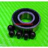 [QTY10] (10x26x8 mm) S6000-2RS Stainless HYBRID CERAMIC Ball Bearings BLK 6000RS