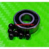 [QTY 5] (4x13x5 mm) 624-2RS HYBRID CERAMIC Si3N4 Ball Bearing Bearings 624RS